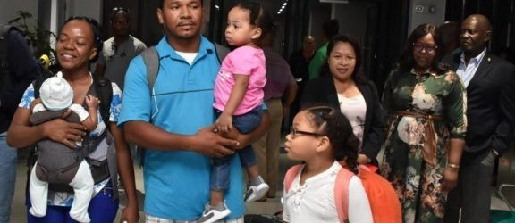 Guyana Welcomes Home Hurricane Victims from the Bahamas
