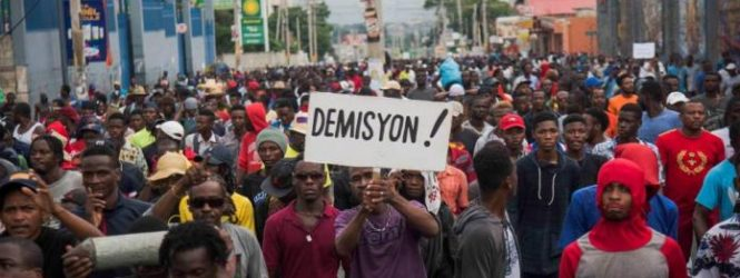 Opposition Parties in Haiti Call for Resumption of Street Protests